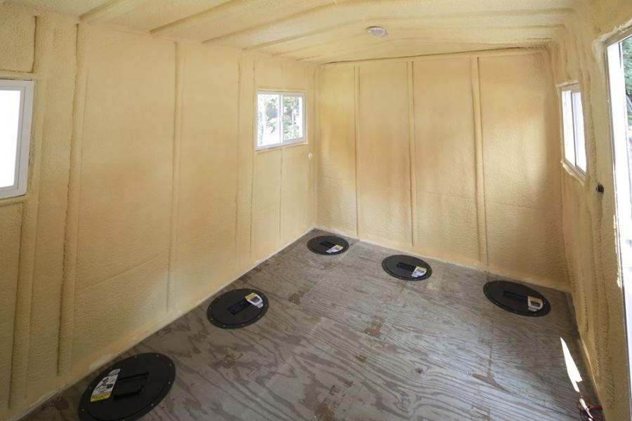 Lake Kabetogama Ice House Rentals at Voyaguer Park Lodge