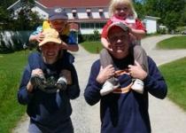 7-12-07-Voyageur-Park-Lodge-Kettle-Falls-Trip-Jenny-Russ-Dan
