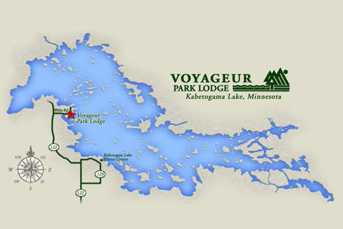 Voyageur Park Lodge Lake Kabetogama Resort in Northern Minnesota